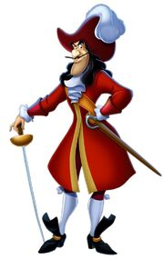 Captain Hook pose