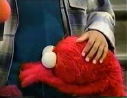 Elmo sobs over Bubbles' death
