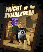 Fear and sparky fright of the bumblebees