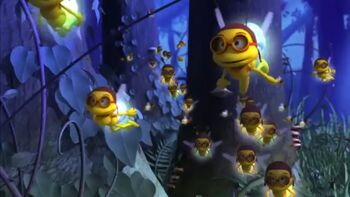 Fireflies (Maya the Bee)