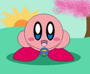 Kirby as a Ultra Guardian