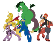 The Avengers ponified