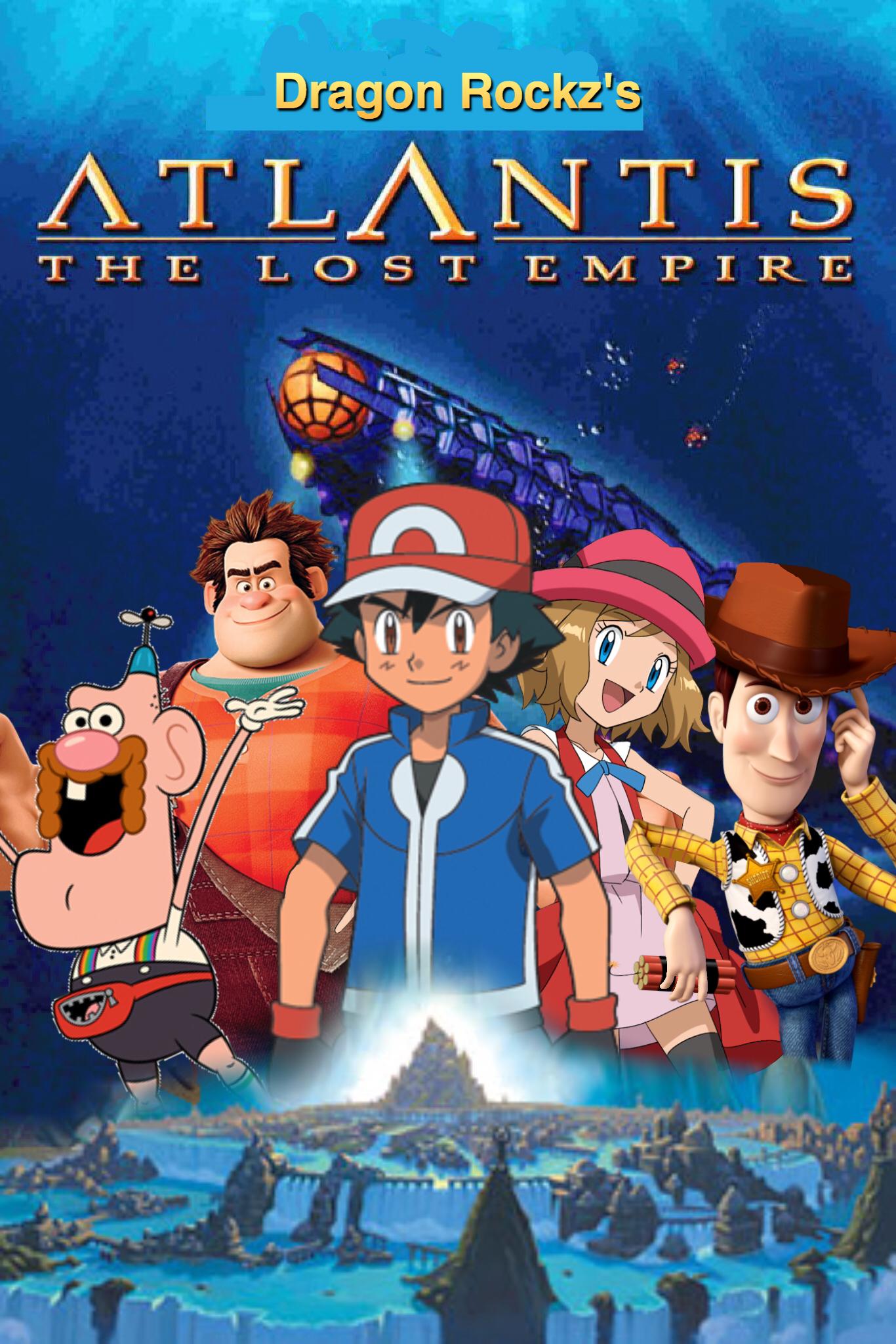 Atlantis (Dragon Rockz Style): The Lost Empire   The ...