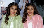 Marissa & Bina as Ashley and Alissa