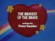 The Bravest of the Brave (Title Card)
