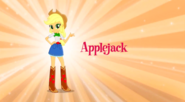 Applejack Equestria Girls music video