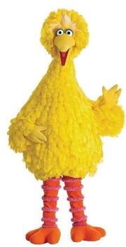 Big Bird (Sesame Street) as Mr Stork