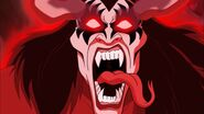 Demon kiss monster roaring when I come to life