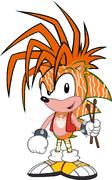 Manic the Hedgehog as Tily