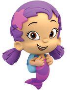 Oona the bubble guppy as Gloria