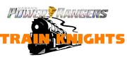 Power Rangers Train Knights title