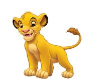Young simba lion king