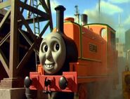 Billy the Silly Orange Engine