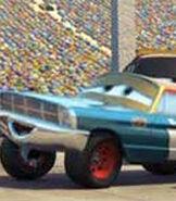 Mario Andretti in Cars