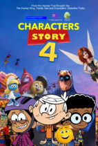 Characters Story 4 (2019) Poster