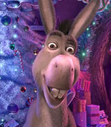 Donkey in Shrek the Halls