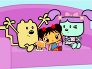 Kai-Lan Hoho Wubbzy and Daizy as Stewie Griffin
