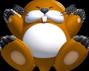 NSMBU Monty Mole