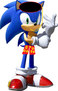 Sonic in the summer