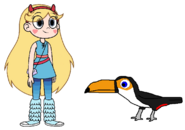 Star meets Toco Toucan