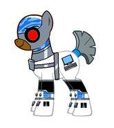 Cyborg pony