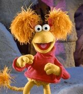 Red Fraggle in Fraggle Rock
