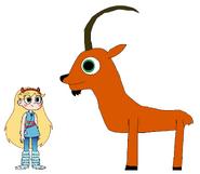 Star meets Siberian Ibex