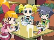 The Powerpuff Girls Z Anime Characters