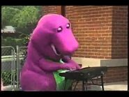 Barney Playing Piano