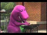 Barney Playing Piano