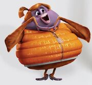 Cloudy with a Chance of Meatballs 2 Barb