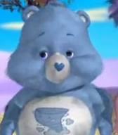 Messy Bear as Sneezy