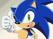 Sonic in Sonic X