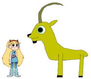 Star meets Alpine Ibex