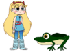 Star meets Gastric-Brooding Frog