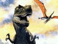 Tyrannosaurus-and-pteranodon-encyclopedia-3dda