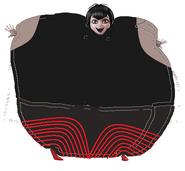 Mavis Dracula Inflated without a Cape
