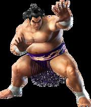 Ganryu - CG Art Image - Tekken 6 Bloodline Rebellion