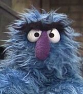 Herry Monster in Sesame Street