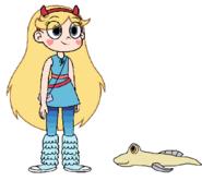 Star meets Mudskipper