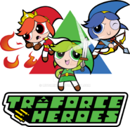 The Powerpuff Triforce Heroes