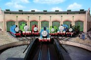 Thomas, Edward, Henry, Gordon, James, Percy and Toby (Thomas and Friends)