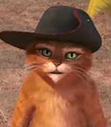 Puss in Boots in Shrek The Third