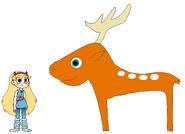 Star meets Sika Deer