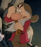 Grumpy in Snow White and the Seven Dwarfs