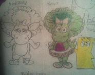 My Sketch Design of Baby Bop