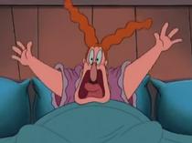 Amanda Screams in her Bed