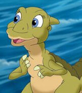 Ducky in The Land Before Time 13 The Wisdom of Friends