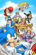 Freedom Fighters (Sonic the Hedgehog) as The CDA