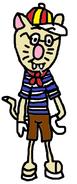 Mr Catsmith (Pyjamas) (with shades)